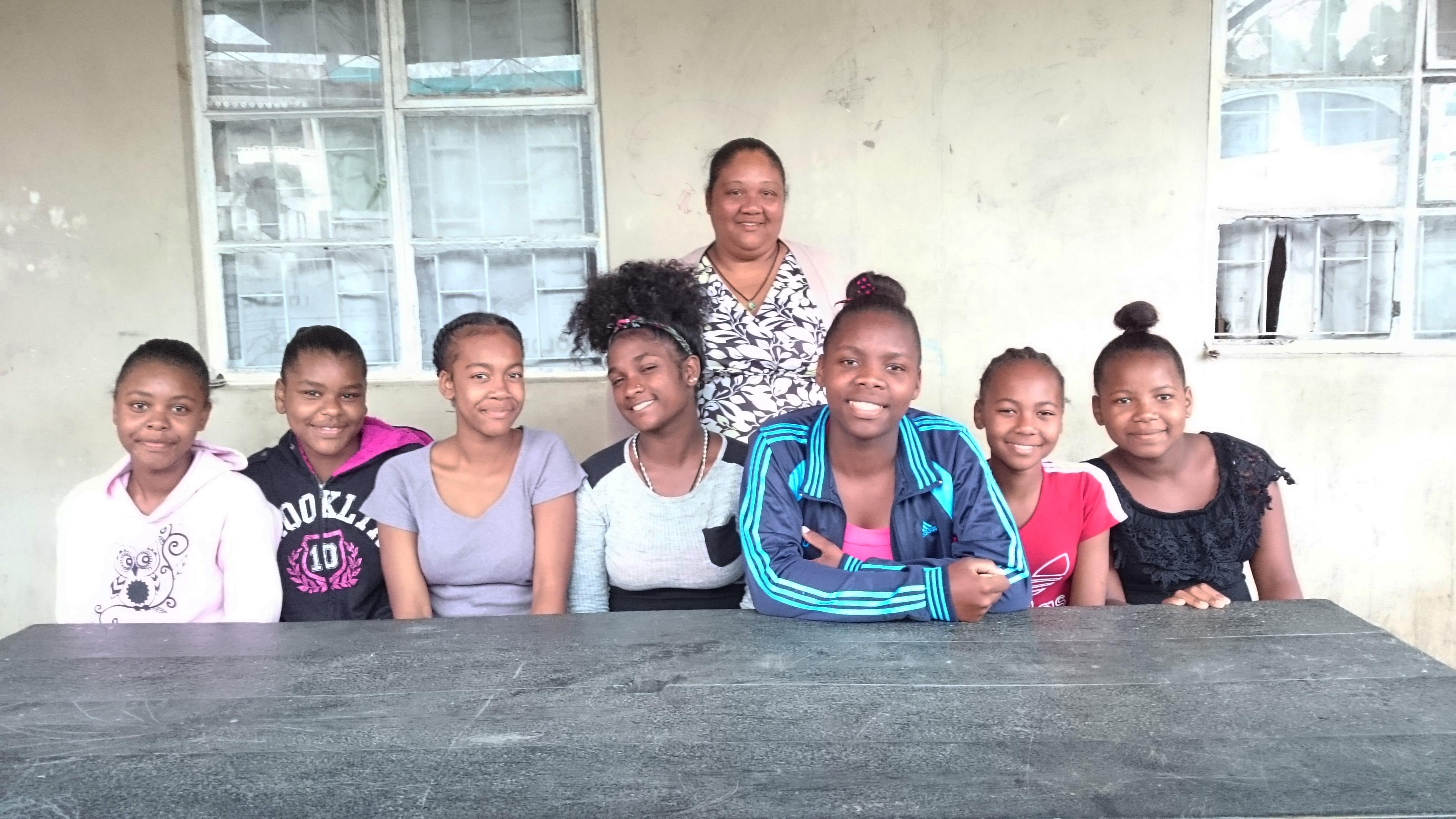 Une expérience formidable pour 7 jeunes filles d'Anoska